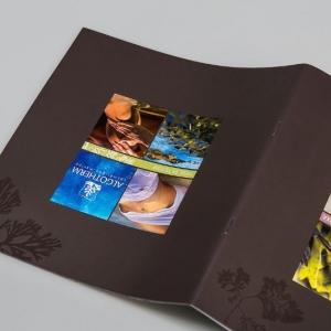 Разворот обложки рекламного каталога