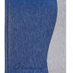 Двухцветный ежедневник с логотипом
