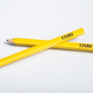 Плоские карандаши желтые