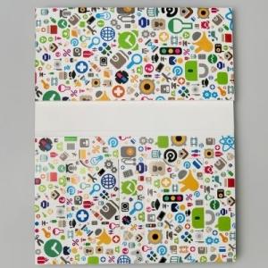 Фирменная папка для банковских карт