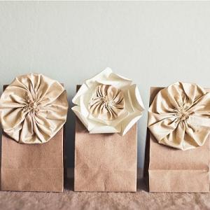 Подарочные крафт-пакеты