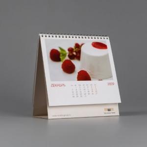 Перекидной календарь настольный форматом 220х210 мм
