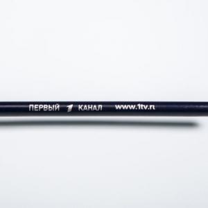 Фирменный карандаш с простым грифелем