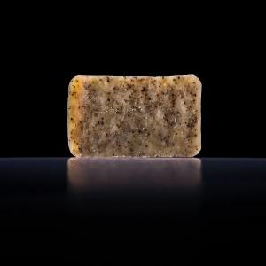 Мыло ручной работы с эфирным маслом ванили и овсом