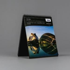 Настольный перекидной календарь форматом 200х270 мм