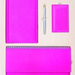 Стильный розовый набор для бизнес-леди