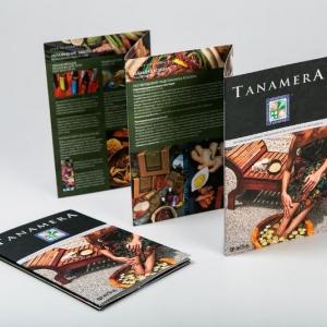 Рекламный буклет для бренда Tanamera