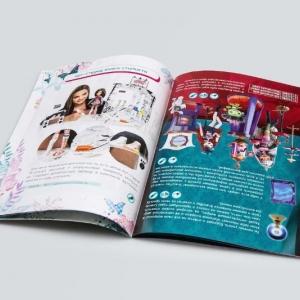 Полноцветная рекламная брошюра