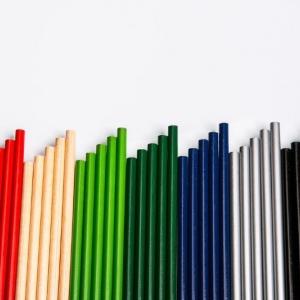 Простые карандаши разноцветные