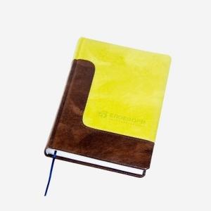 Двухцветный деловой ежедневник