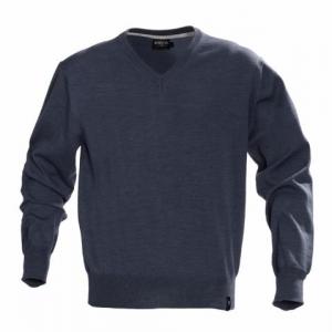Трикотажный свитер с рукавами на резинке