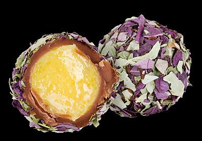 Трюфель с манго и базиликом