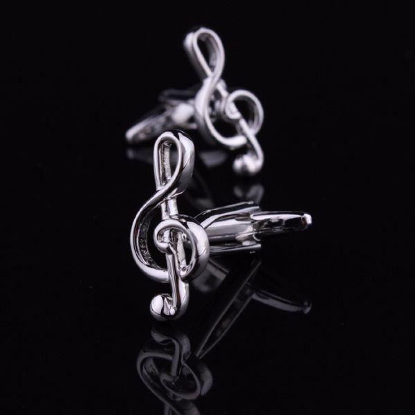 Дизайнерские запонки из серебра