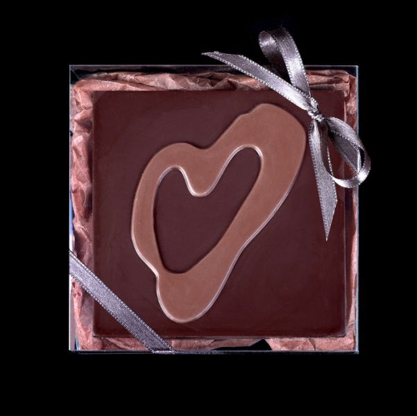 Фирменный шоколад с логотипом