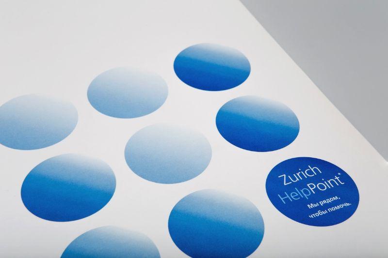 Фирменная деловая папка со слоганом