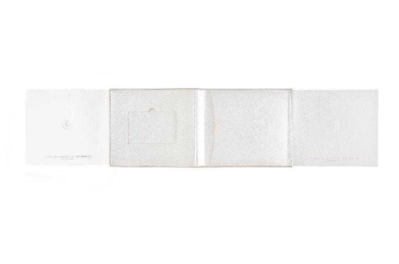 Упаковка для подарочных карт с карманом для буклетов