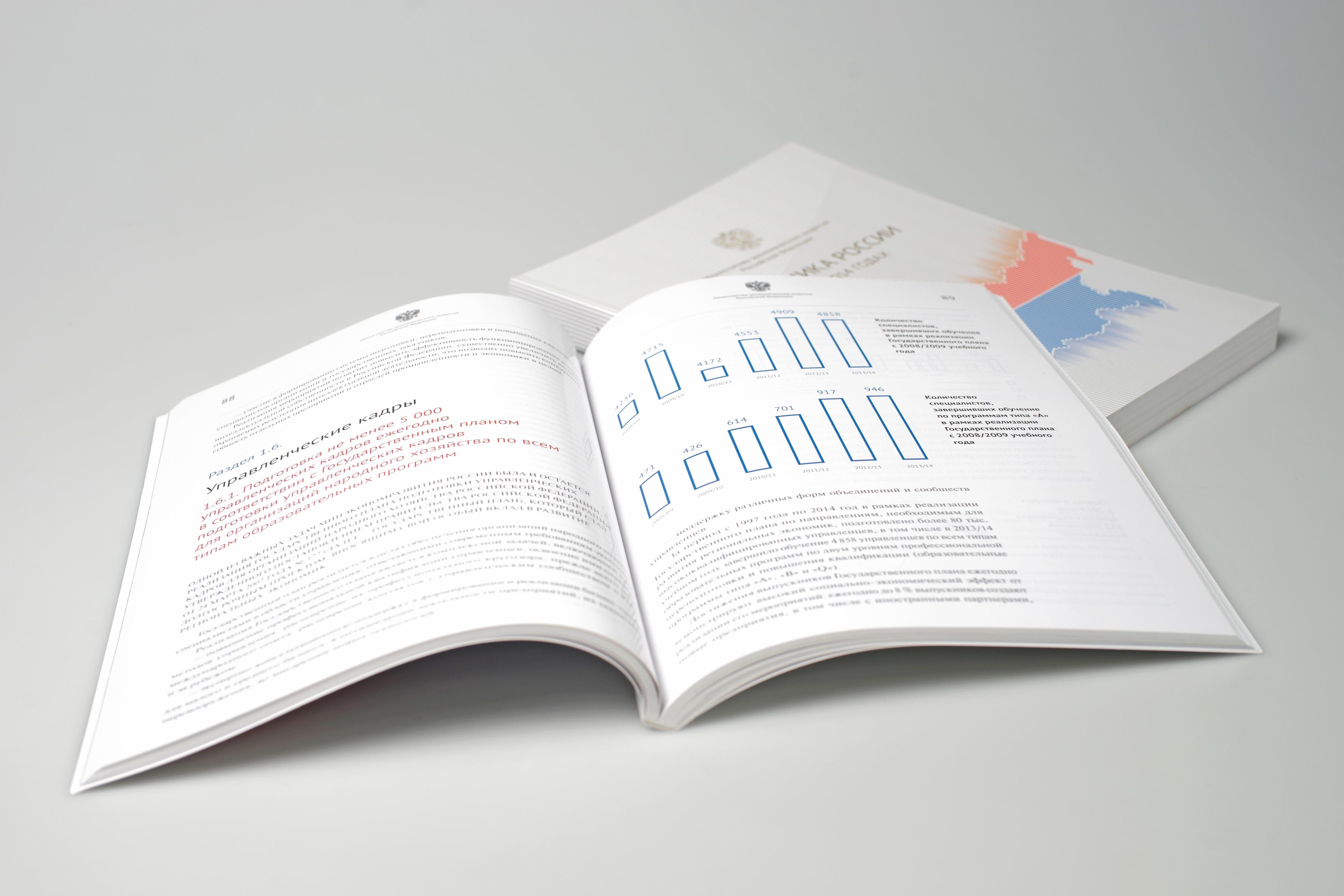 Годовой отчет со схемами и диаграммами