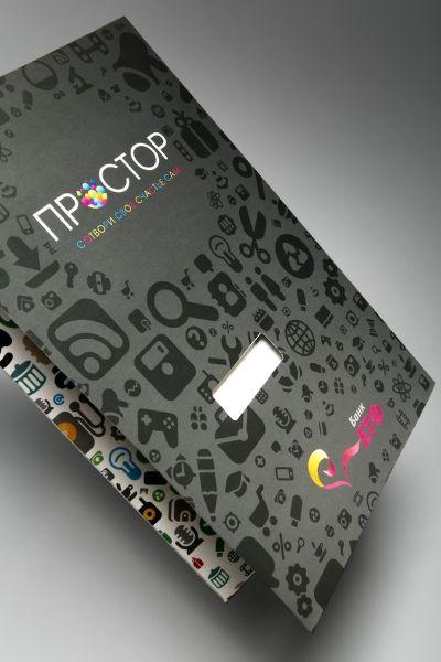 Стильная папка для пластиковых карт