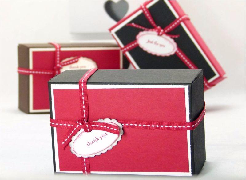 Подарочная коробочка из каппа-картона