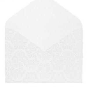 Бумажный конверт, оборотная сторона