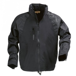 Черная куртка с нагрудным карманом