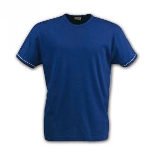 Облегающая футболка синяя