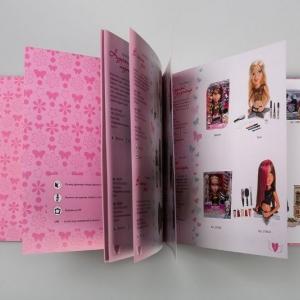 Рекламный каталог-куклы для девочек Bratz