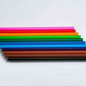 Простые карандаши для промо-акций, разноцветные