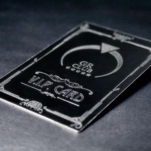 Фирменная карта VIP из металла