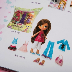 Рекламный каталог одежды для кукол