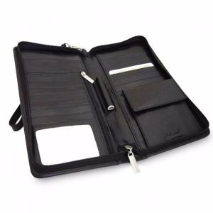Дорожное портмоне из кожи