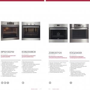 Презентационный разворот брошюры для производителя кухонной техники