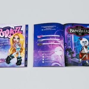 Рекламная брошюра-детские игрушки