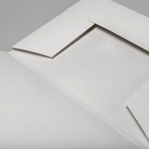 Фирменная белая папка для бумаг