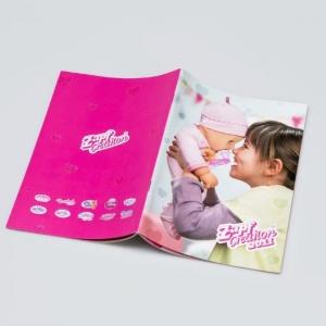Рекламный каталог для производителя игрушек
