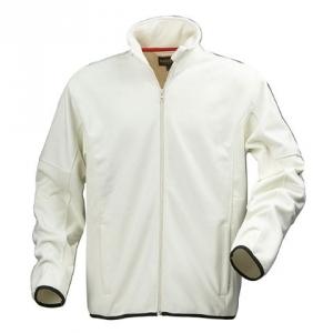 Белая куртка из флиса