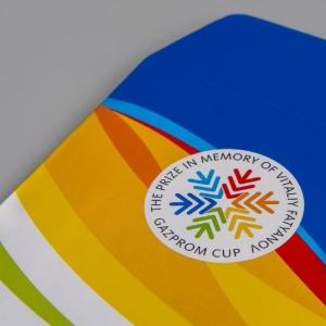Рекламный бумажный конверт, полноцветная печать
