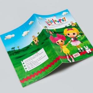 Рекламный каталог-игрушки для девочек