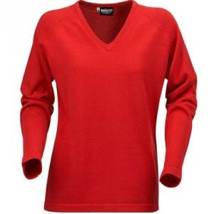 Облегающий свитер красного цвета