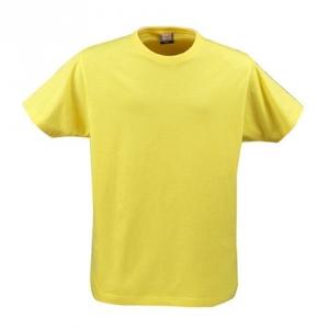Футболка свободная желтого цвета