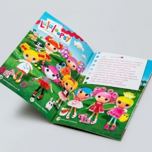 Рекламный журнал для девочек
