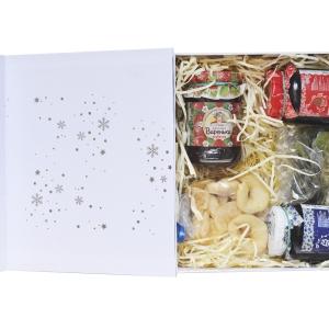 Брендированная коробочка с подарочным набором