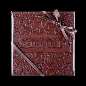 Квадратная плитка шоколада с лого