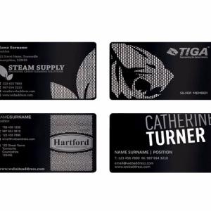 Эксклюзивные металлические визитки