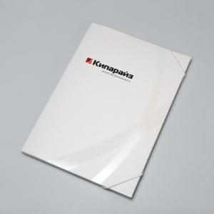 Фирменная папка для бумаг
