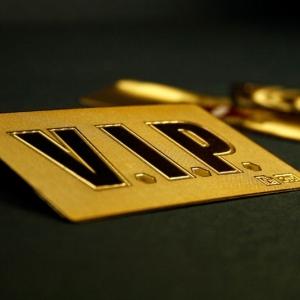 Металлическая VIP карта