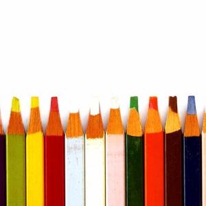 Разноцветные карандаши заточеные