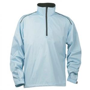 Голубая куртка на молнии