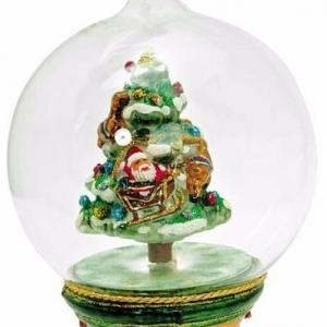 Ёлочная игрушка «Стеклянный шар»