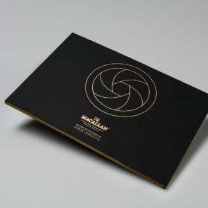 Корпоративное приглашение из каппа-картона